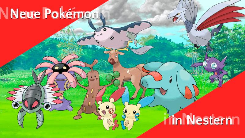 Neue Pokémon in Nestern 11