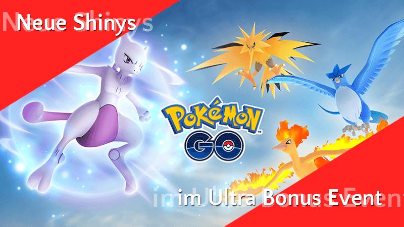 Neue Shinys zum Ultra Bonus 12