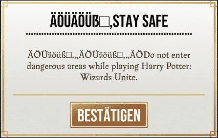 Neues Update 1331.0.0 bringt einige Neuerungen nach Harry Potter: Wizards Unite 12