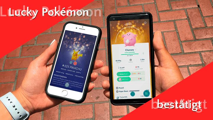 Niantic bestätigt offiziell Lucky Pokémon 9