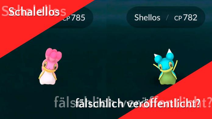 Niantic veröffentlich versehentlich neue Pokémon! 4