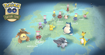 Pokémon GO Fest und Go Safari! Exklusive Pokémon in Europa! 1