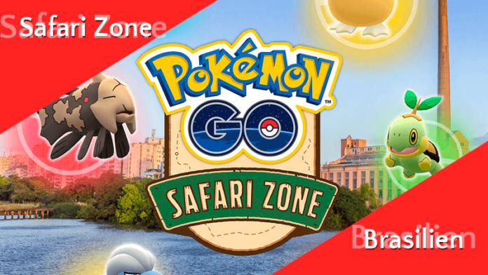 Pokémon GO Safari Zone in Brasilien! 3