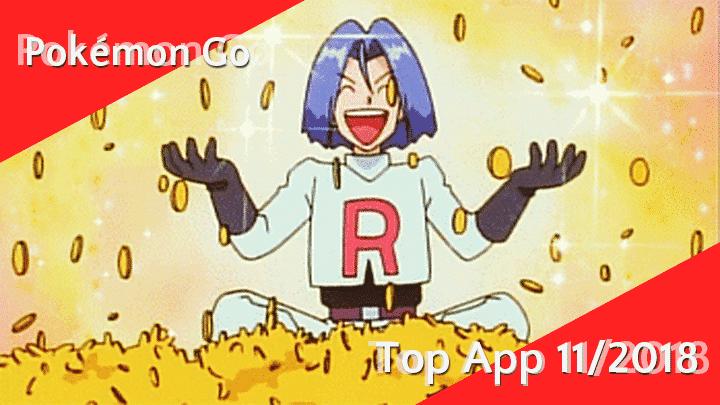Pokémon Go - Umsatzstärkste App im November 2018 10
