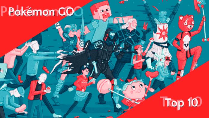 Pokémon GO unter den Top 10 Spielen des Jahrzehnts 2