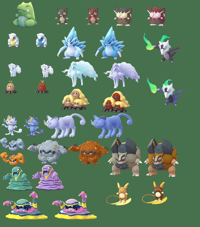 Pokémon GO Version 0.107.1 Datamine - Tauschen & Alola-Formen 18