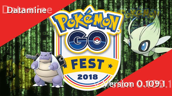 Pokémon GO Version 0.109.1 - Datamine 11