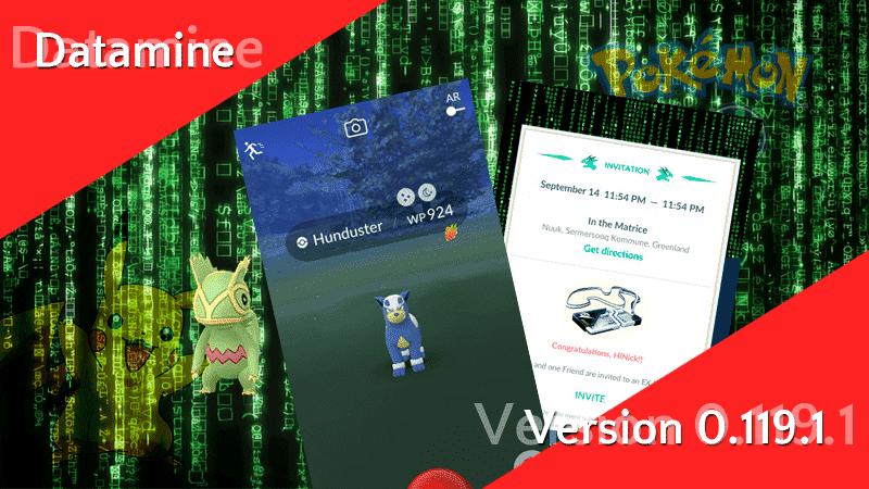 Pokémon GO Version 0.119.1 Datamine 11