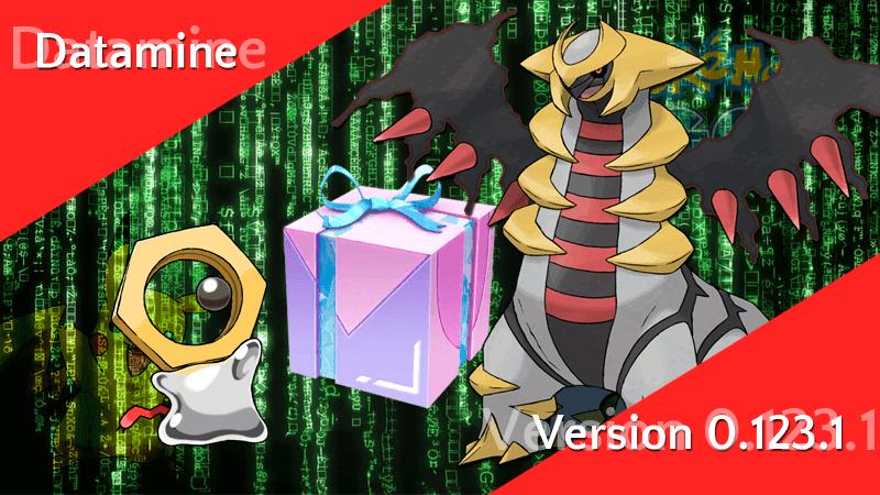 Pokémon GO Version 0.123.1 - Datamine 8