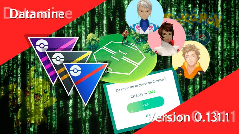 Pokémon GO Version 0.131.1 Datamine - PVP und neue Attacken 13