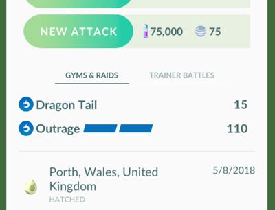 Pokémon GO Version 0.135.0 - Datamine 2