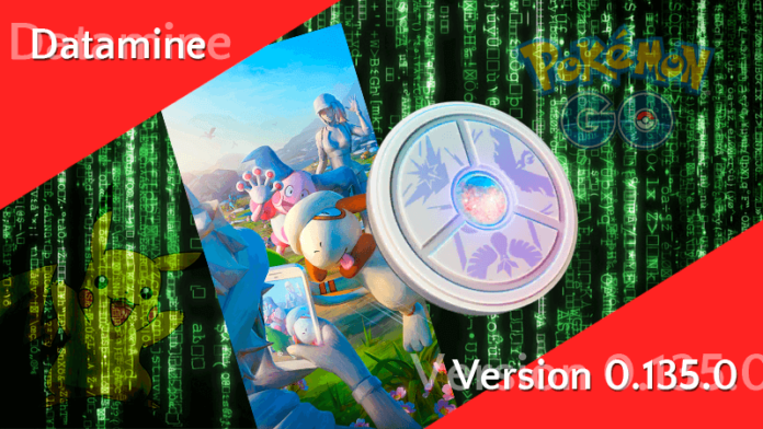 Pokémon GO Version 0.135.0 - Datamine 5