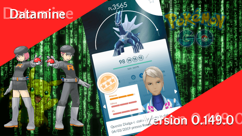 Pokémon GO Version 0.149.0 Datamine - Bewertung, PVP, Crypto-Pokémon 9