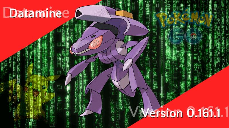 Pokémon GO Version 0.161.1 Datamine - Genesect, Knurspe & Crypto-Pokémon 9