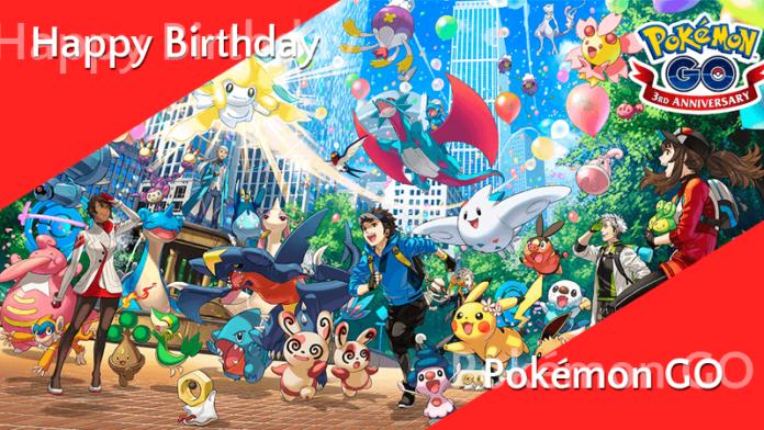 Pokémon GO wird 3 Jahre alt - Neue Shinys, Spezialforschung und mehr! 5