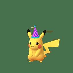 Neujahrsevent Leak - Shiny Waumpel mit Partyhut 15