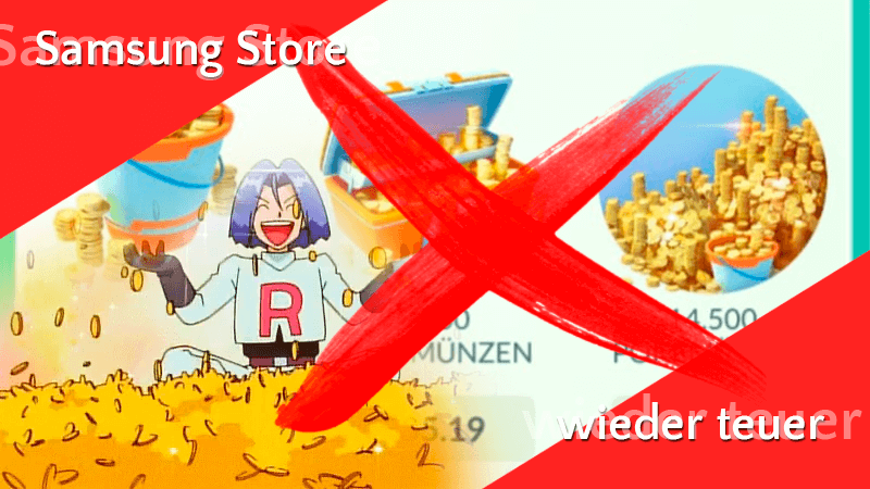 Preise im Samsung Store angeglichen 11