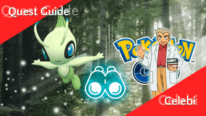 Quest Guide - Celebi 1