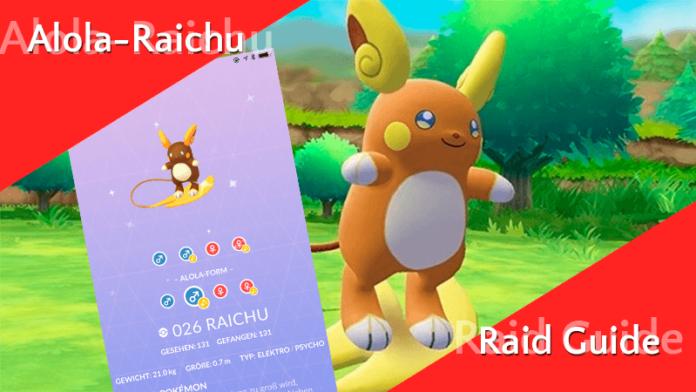 Raid Guide - Alola-Raichu 12