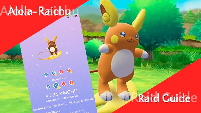 Raid Guide - Alola-Raichu 11