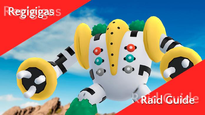 Raid Guide - Regigigas (EX-Raid) 10
