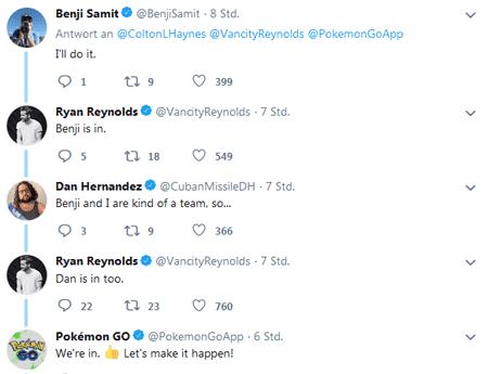 Ryan Reynolds und Colton Haynes spielen Pokémon GO? 2