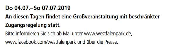 Safari Zone erneut im Dortmunder Westfalenpark! 1
