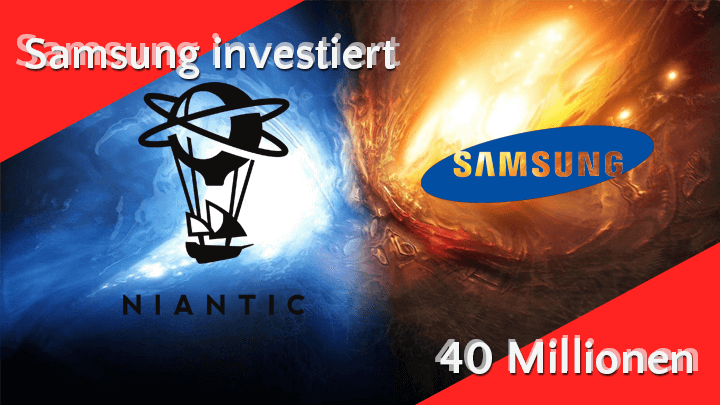 Samsung investiert 40 Millionen US-Dollar in Pokémon-Go Macher Niantic. 11