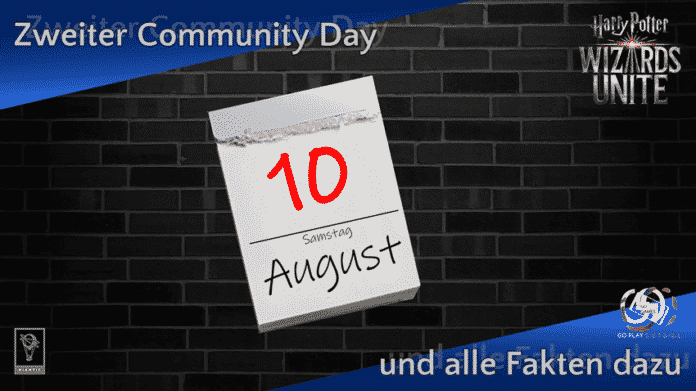 Save the date: Zweiter Community Day am 10. August 2019 1