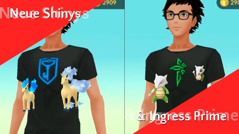 Shiny Ponita und Tragosso zum Start von Ingress Prime 10