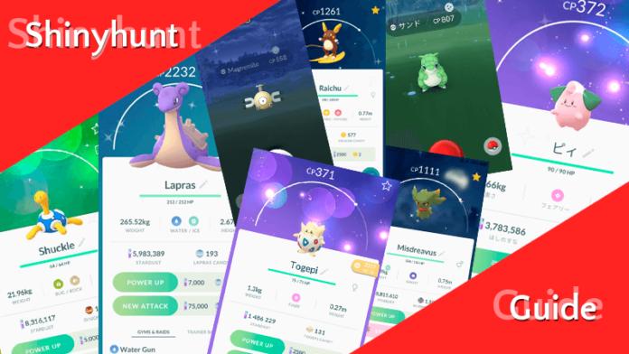 Shinyhunt Guide für Pokémon GO 3