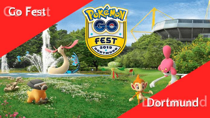 Spezialforschung und Pokémon beim GO Fest Dortmund 2