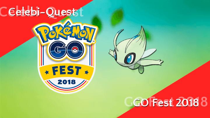 Spezialfoschungen für Celebi beim Pokémon GO Fest 2018 9