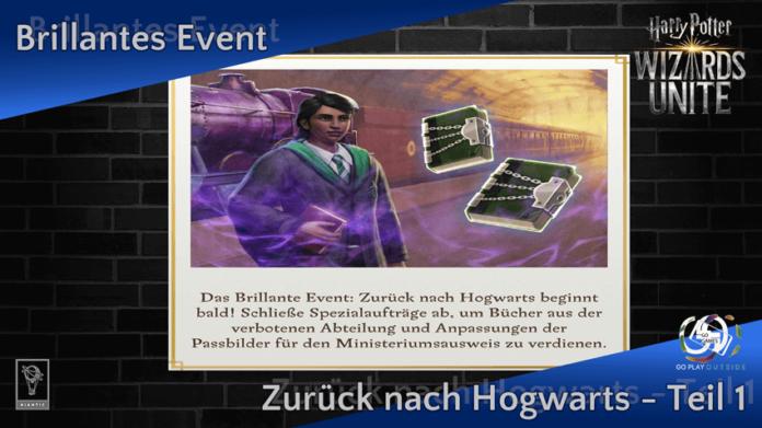 [Spoiler] Brillantes Event: Zurück nach Hogwarts Teil 1 1