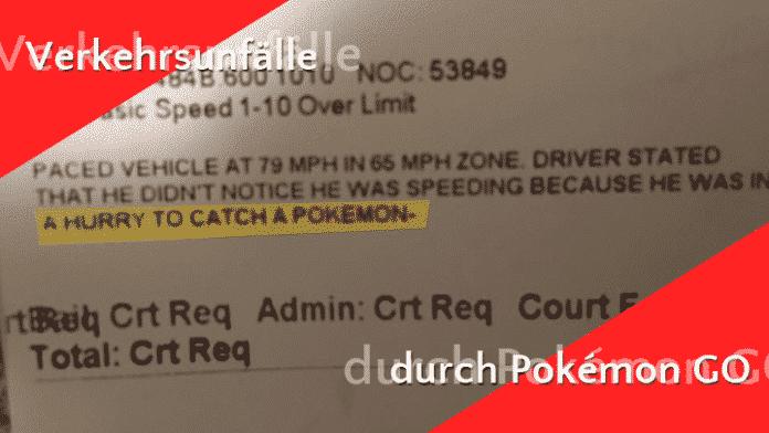 Studie sieht Zusammenhänge zwischen Pokémon Go und Verkehrsunfällen 3