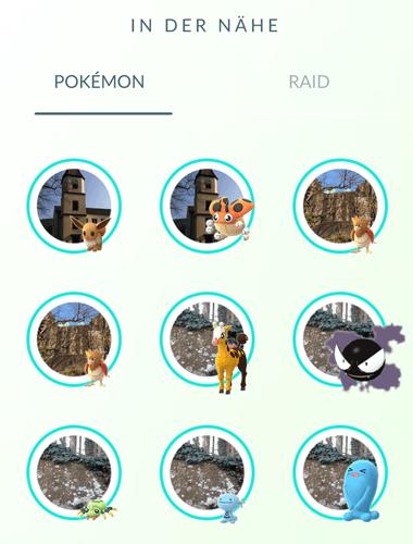 Theorie - Haben manche Spawnpunkte eine höhere Chance auf seltene Pokémon? 5