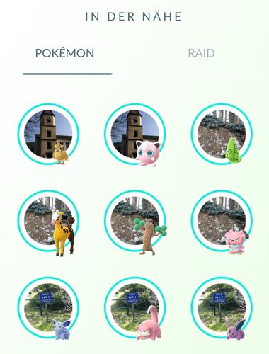 Theorie - Haben manche Spawnpunkte eine höhere Chance auf seltene Pokémon? 8