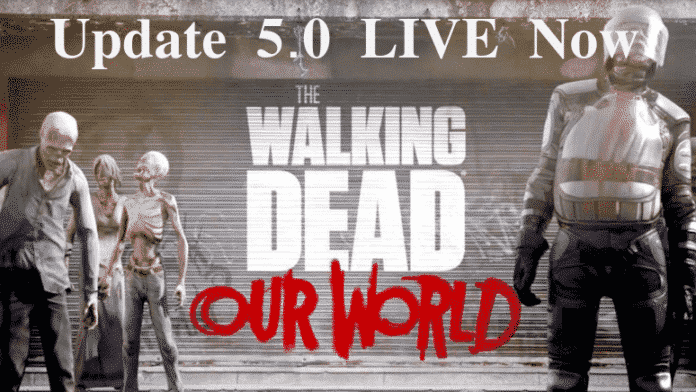 TWD: Our World - Update 5.0 ist live 2