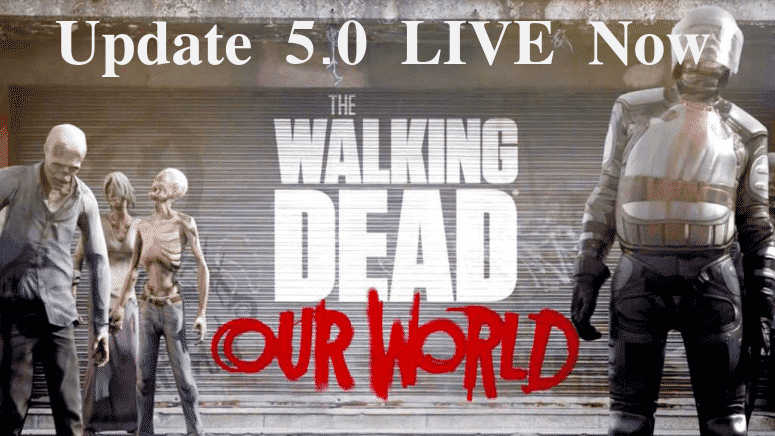 TWD: Our World - Update 5.0 ist live 14