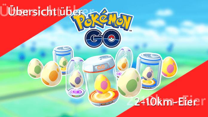 Übersicht der verschiedenen Eier in Pokémon GO 93