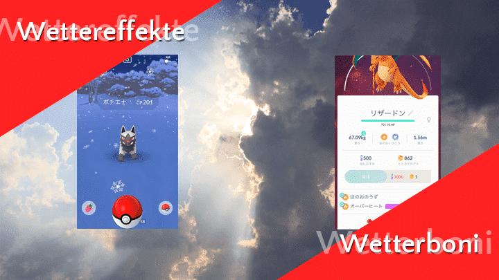 Pokémon GO Wetterwoche ab 24. März 1