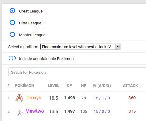 Was sind die besten Pokémon für PVP? 2