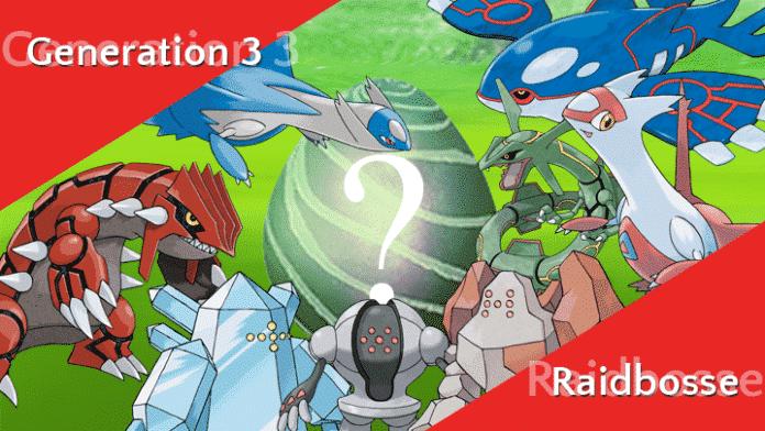 Was wird der nächste legendäre Raidboss? 2