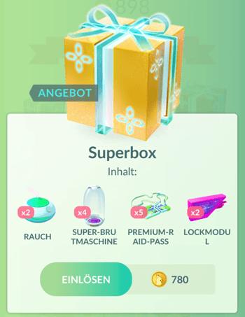 Winterliche Angebote im Pokémon GO Shop 10
