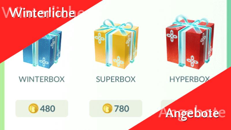 Winterliche Angebote im Pokémon GO Shop 8