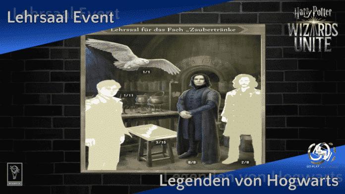 Zusätzliches Event im November: Lehrsaal für Zaubertränke 1