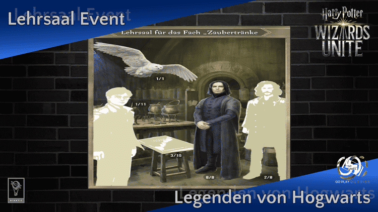 Zusätzliches Event im November: Lehrsaal für Zaubertränke 9