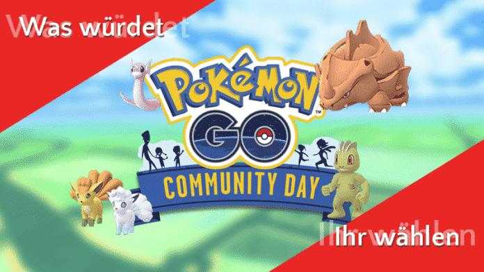 Sonntagsfrage bei Pokémon GO 2