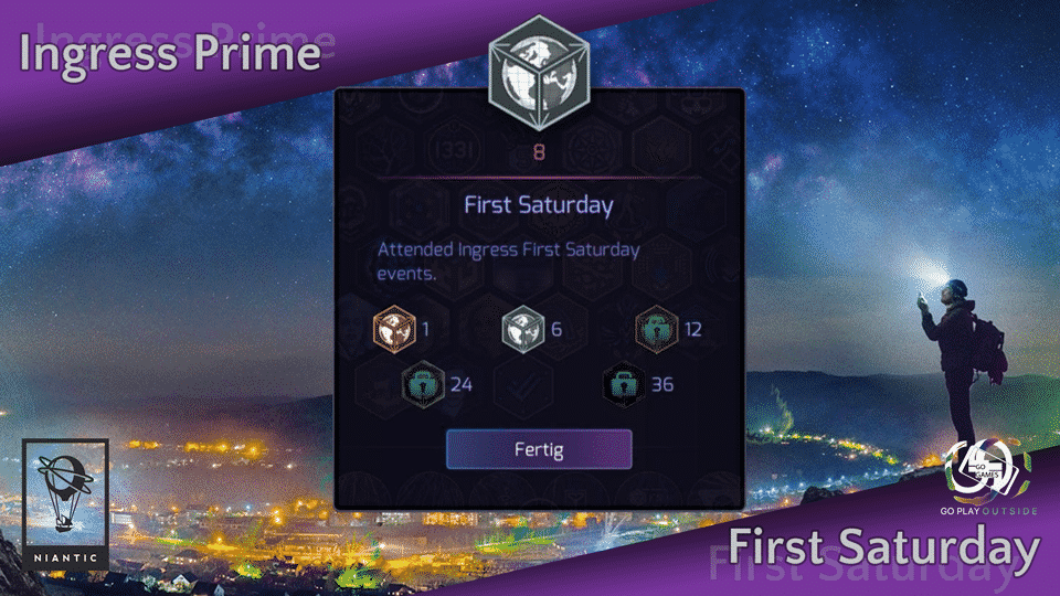Ingress first Saturday