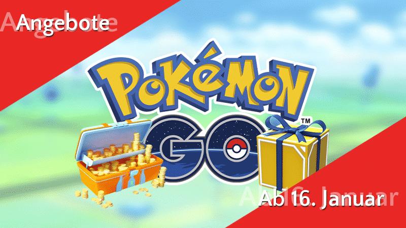 Angebote im Pokémon GO Shop ab 16. Januar 13